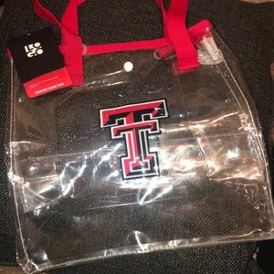 Clear Texas Tech bag